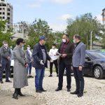 Ион Чебан проинспектировал строительство двух канализационных станций в Сынжере