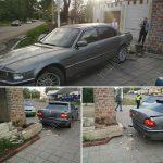 ДТП в Суклее: автомобиль врезался в стену дома