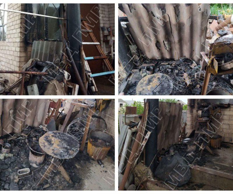 Сварочные работы стали причиной пожара