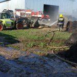 На ферме в Кагуле загорелись тюки сена: на помощь пришли сотрудники ГИЧС (ФОТО)