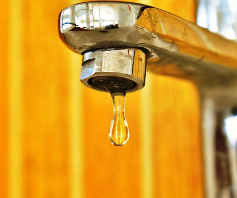 Некоторые жители Колоницы останутся без воды в понедельник