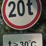 """Внимание: на дорогах вводят """"температурные"""" ограничения для грузовиков"""