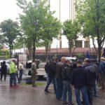 Полиция: акция протеста с участием ветеранов прошла с нарушениями (ФОТО, ВИДЕО)