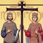 Президент поздравил граждан с днём Святых Константина и Елены