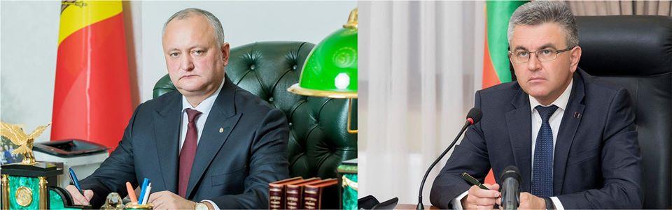 Додон и Красносельский провели телефонный разговор: о чем шла речь