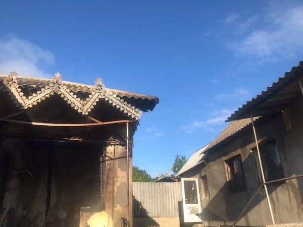 Взрыв в частном доме в Погребенах. Скончалась женщина (ФОТО)