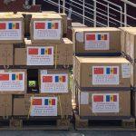 Молдова получила очередную партию гуманитарной помощи от Китая