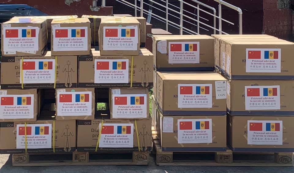 Moldova received another batch of humanitarian aid from China