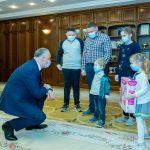 Еще одна многодетная семья обретет крышу над головой благодаря президенту (ФОТО, ВИДЕО)