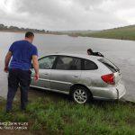 В Чимишлии машина заехала в озеро: водитель захлебнулся (ФОТО)