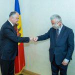 Президент провел встречу со спецпредставителем ОБСЕ по приднестровскому урегулированию (ФОТО, ВИДЕО)