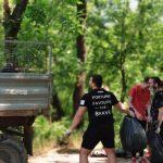 В Кишинёве полным ходом идут работы по уборке территории (ФОТО)