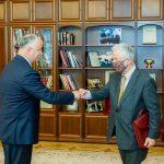 Президент провел повторную встречу со спецпредставителем ОБСЕ по приднестровскому урегулированию (ФОТО, ВИДЕО)