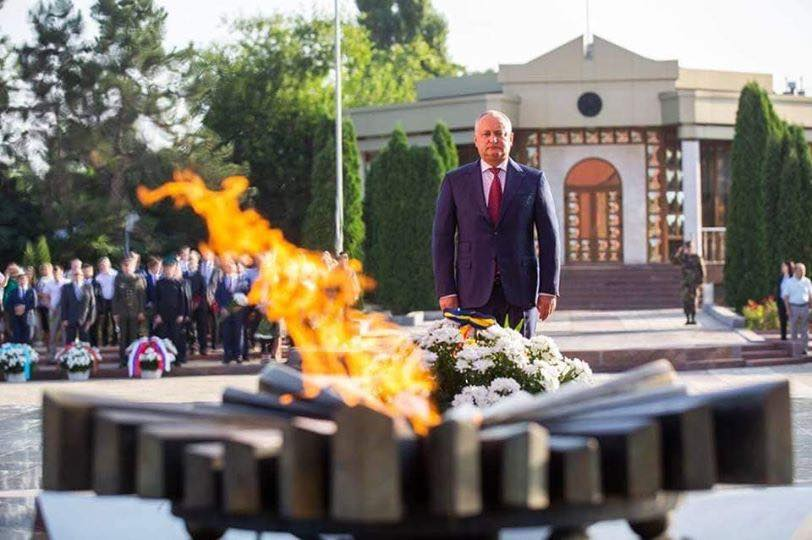 Igor Dodon: We must remember the deeds of our grandfathers and great-grandfathers