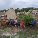 Размытые дороги и затопленные подвалы и дворы: непогода нанесла ущерб ряду населенных пунктов (ФОТО)