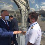 Игорь Додон отправился с визитом в Москву (ФОТО)