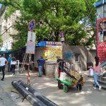 Работы по демонтажу киосков на улице Тигина возобновились (ФОТО)