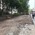 Капитальный ремонт смытой дождями улицы на Ботанике близится к концу (ФОТО)