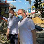 Ион Чебан с инспекцией на улице Тигина: Под киосками, подлежащими демонтажу, находились подземные коммуникации