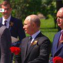 Игорь Додон вместе с Владимиром Путиным и другими лидерами возложили цветы к Могиле Неизвестного Солдата (ФОТО, ВИДЕО)