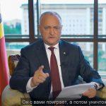 """Додон - Санду и Нэстасе: Вы думаете, Плахотнюк вложил $20 млн в """"Про-Молдову"""", чтобы отдать вам правительство? (ВИДЕО)"""