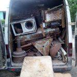Житель столицы был пойман за перевозкой металлолома без документов