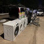 На границе выявили три авто, набитых до отказа контрабандными товарами (ФОТО)