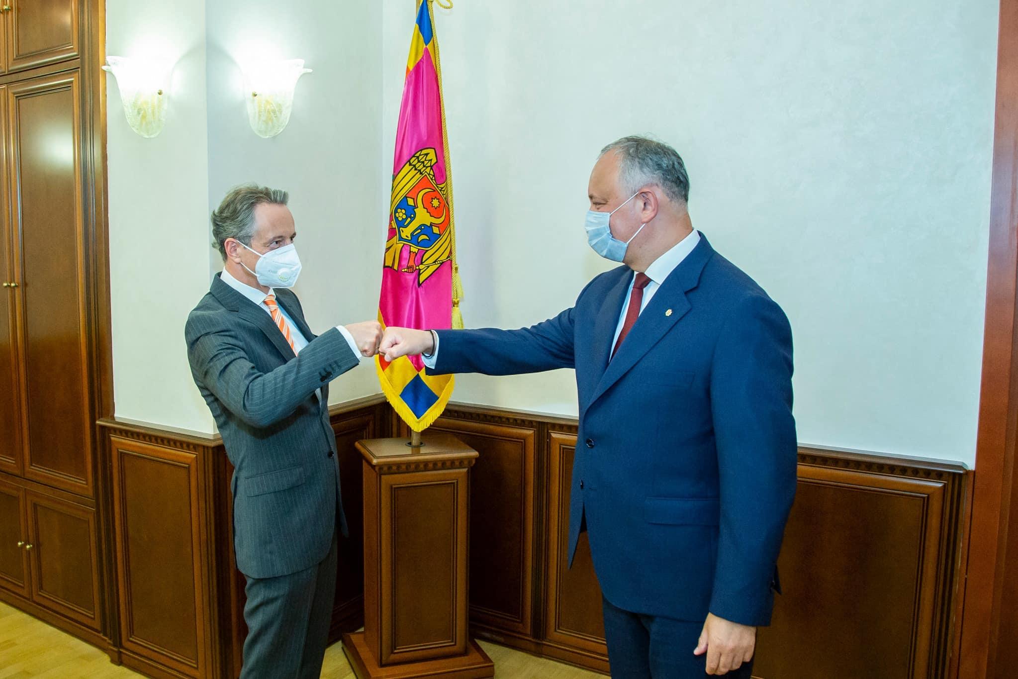Додон обсудил с главой Миссии ОБСЕ свою предстоящую встречу с Красносельским (ФОТО, ВИДЕО)