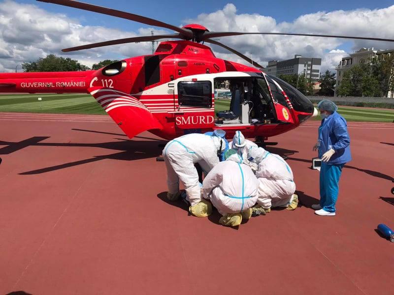 Женщину с хроническим заболеванием доставили из Кишинева в Бухарест для хирургического вмешательства (ФОТО)
