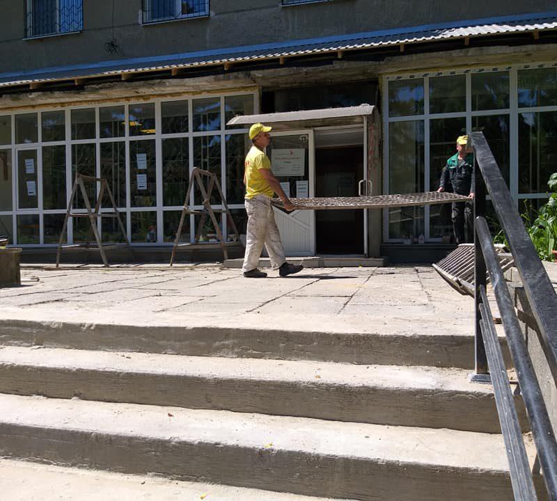 Стартовал капитальный ремонт библиотеки Ломоносова (ФОТО)