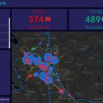 В Кишинёве запустили интерактивную карту с участками, где чаще всего случаются ДТП