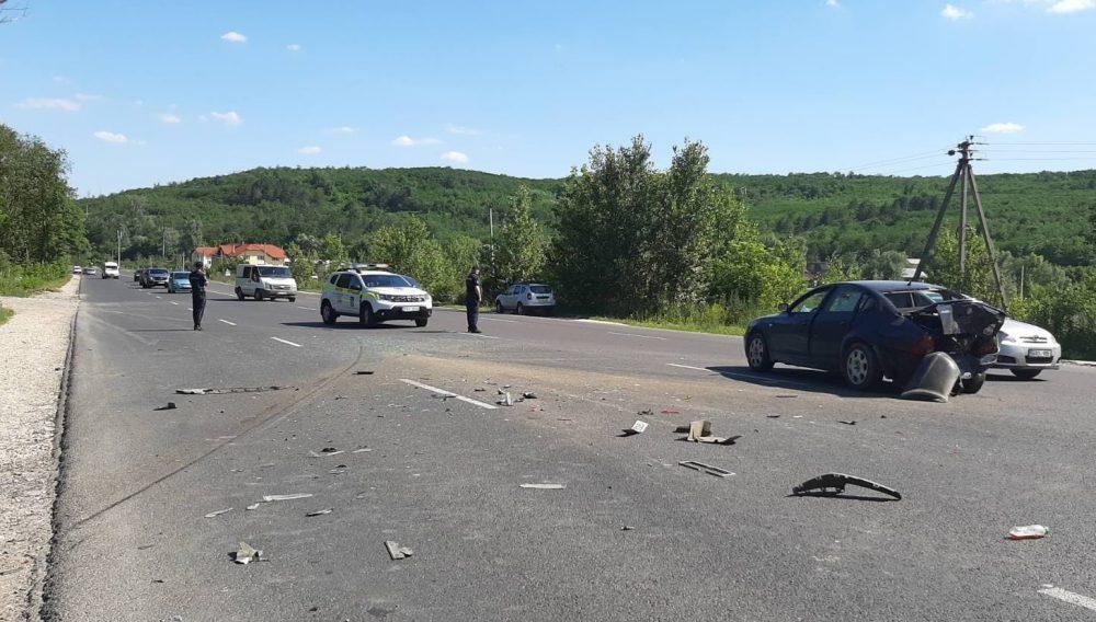 Авария на трассе Кишинёв-Унгены: женщина попала в больницу (ФОТО)