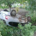 Водитель скрылся с места ДТП, оставив машину в кювете