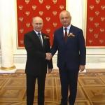 Игорь Додон и Владимир Путин поприветствовали друг друга перед началом Парада Победы (ВИДЕО)