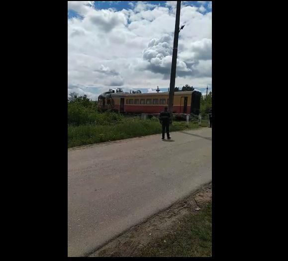 В Дондюшанах загорелся локомотив поезда Бельцы-Окница