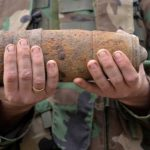 Около 800 опасных объектов уничтожили сапёры в мае (ФОТО)