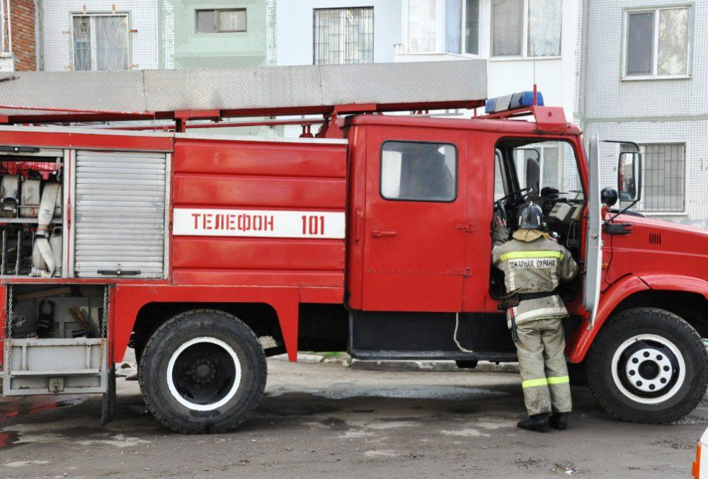 Пожар в Тирасполе: сгорела летняя кухня