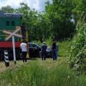 В Страшенах поезд протаранил автомобиль на переезде (ФОТО)