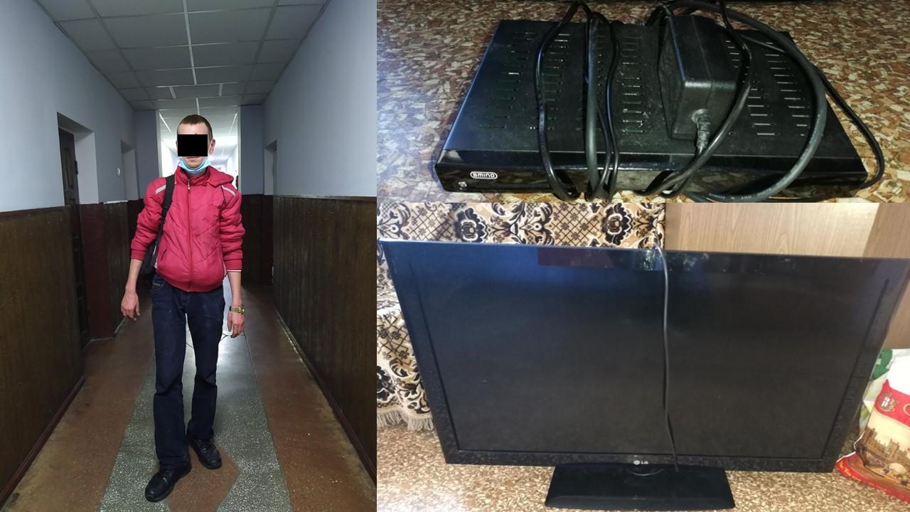 Недавно освободившегося из тюрьмы жителя Яловен задержали за кражу (ВИДЕО)