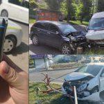 Около сотни аварий произошло в столице за последние двое суток (ВИДЕО)