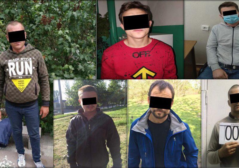 За неделю в Кишиневе задержали несколько десятков объявленных в розыск преступников