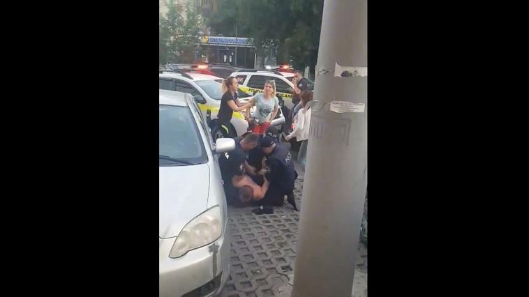 Неудержимый: десяток патрульных машин гнались за пьяным водителем (ВИДЕО 18+)