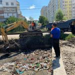 В столице начались работы по очистке и углублению русла реки Дурлешть