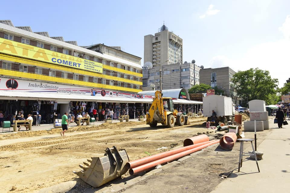 На улице Тигина сносят киоски возле Центрального рынка: начинается капитальный ремонт (ФОТО)