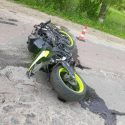 Врезался в дерево: несовершеннолетний мотоциклист скончался в ДТП в Бричанах