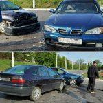 Не проскочил: в Бендерах невнимательный водитель устроил ДТП