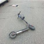 В Кишиневе сбили мужчину, передвигавшегося на электрическом самокате (ФОТО)