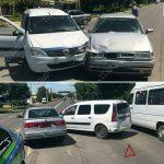 Не уступил дорогу: из-за невнимательного водителя произошла авария