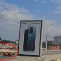 """Летел"" по Виадуку: момент аварии с участием мотоциклиста попал на видео"