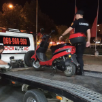 Предотвратили трагедию: в столице карабинеры поймали критически пьяного мотоциклиста (ВИДЕО)